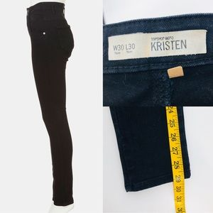 Topshop Moto skinny cropped jeans 30